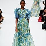 A Floral Gown From the Carolina Herrera Runway at New York Fashion Week