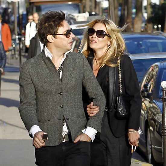 Kate Moss Walking Paris With Jamie Hince Pictures