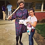 Martin Starr got into character for NTSF:SD:SUV. Source: Instagram user martinstarr