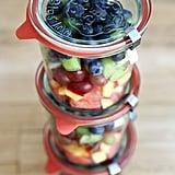 DIY Layered Fruit Cups