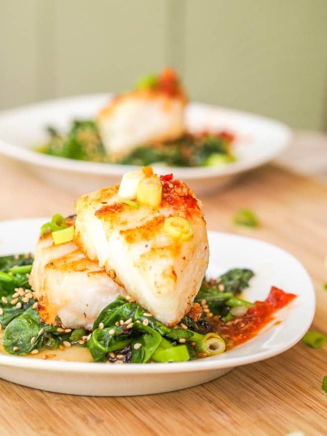 Chilean Sea Bass With Asian Glaze Healthy Valentine S