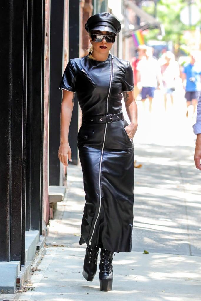 Lady Gaga in a Sonia Rykiel Dress