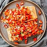 Pan-Seared Salmon With Strawberry Relish