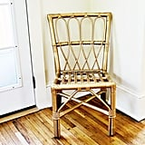 Wicker chairs are a cute addition to any space, and you can easily remove that squeaky sound they all have with a quick spray of WD-40.