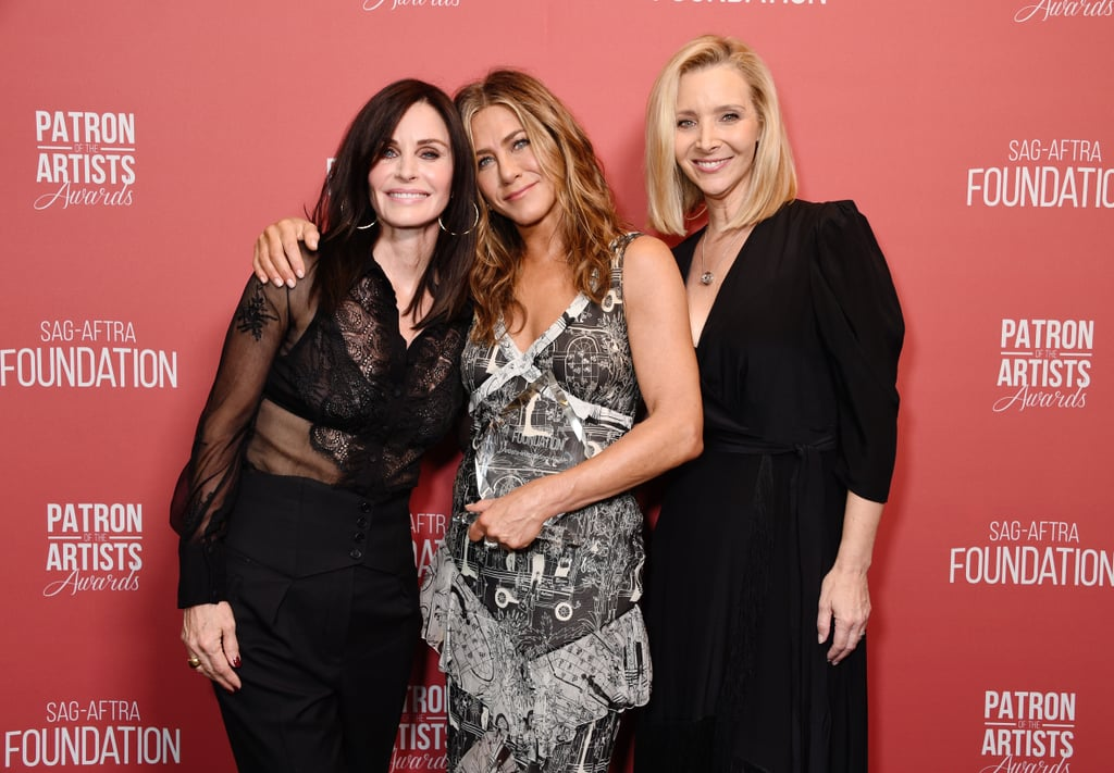 Jennifer Aniston Had a Friends Reunion at the Artists Awards