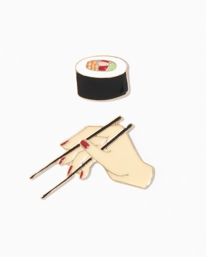 Charming charlie Sushi Emoji Pin Set