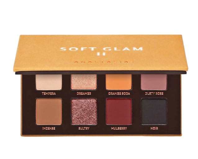 Best Makeup Gifts For Beginners: Anastasia Beverly Hills Soft Glam II Mini Eye Shadow Palette
