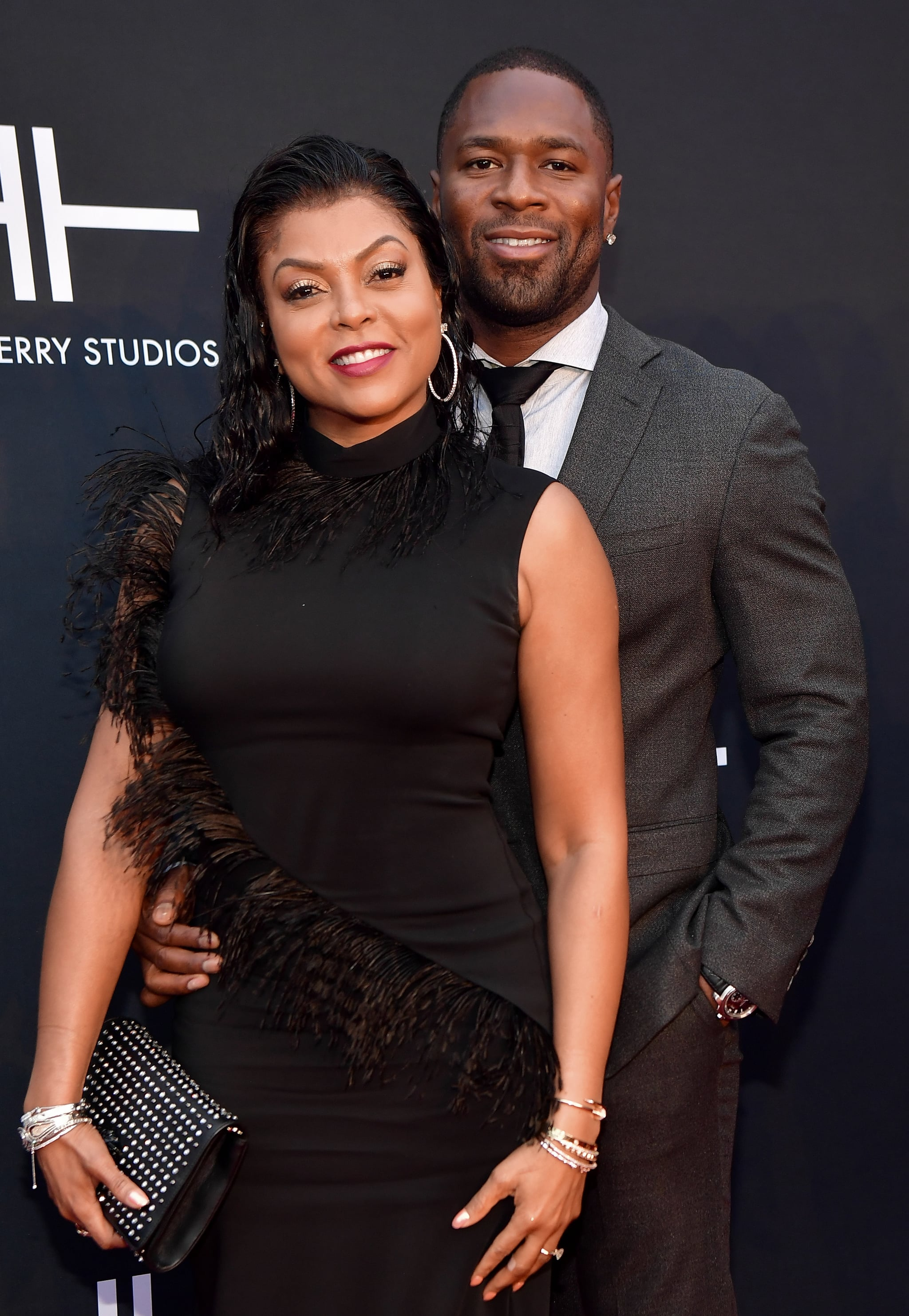 ATLANTA, GA - OCTOBER 05: Taraji Henson and Kelvin Hayden attend Tyler Perry Studios Grand Opening Gala - Arrivals at Tyler Perry Studios on October 5, 2019 in Atlanta, Georgia.(Photo by Prince Williams/Wireimage)