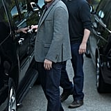 Benn Affleck and Matt Damon spent some time together in LA.