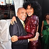 Pictured: Berry Gordy and Tracee Ellis Ross