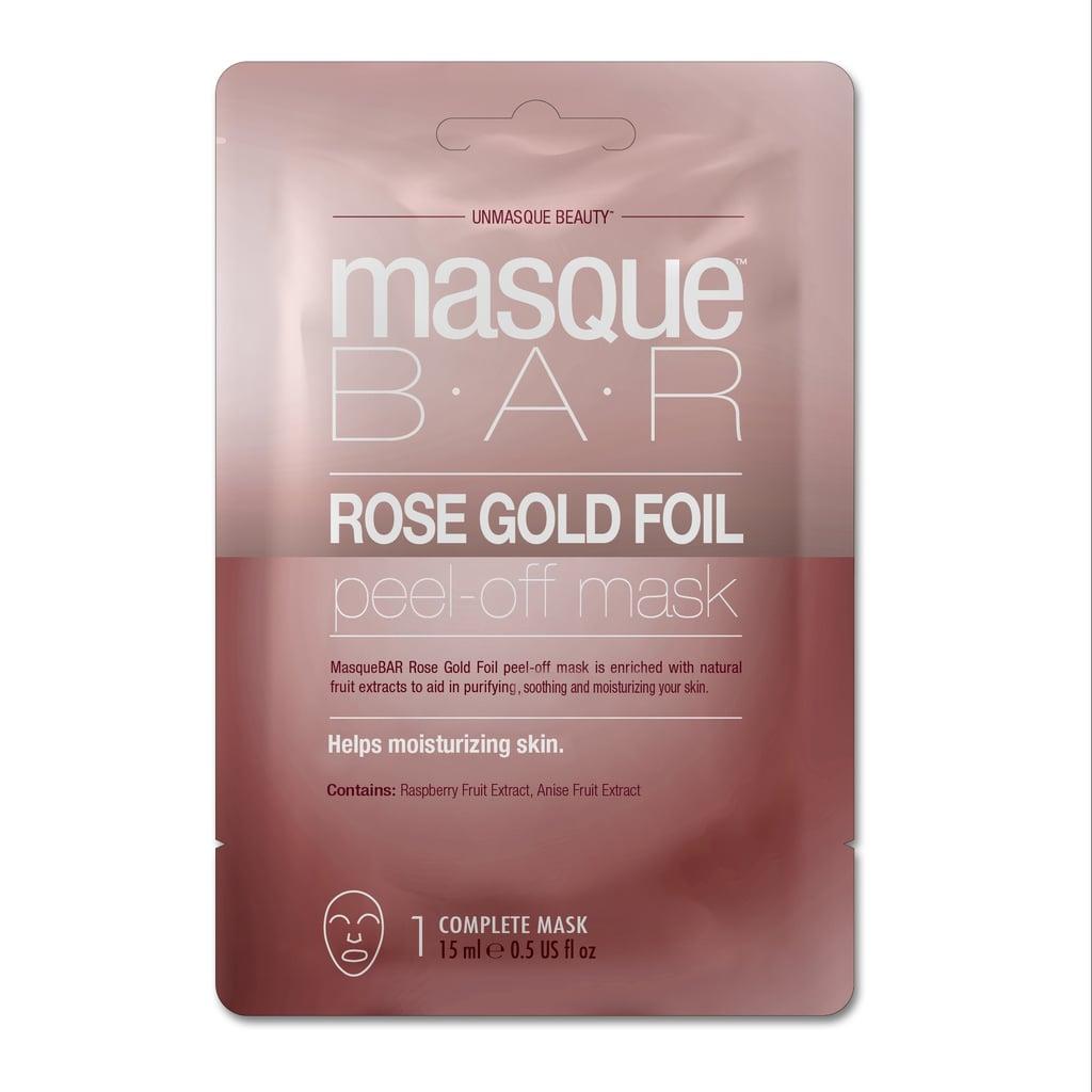 Masque Bar Rose Gold Foil Sheet Mask Review