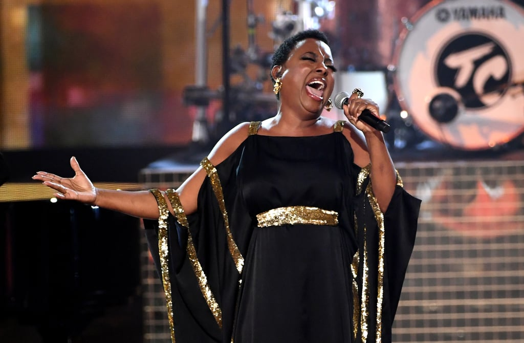 The American Music Awards brought down the house with its tribute to the late Queen of Soul, Aretha Franklin. The legendary singer passed away on Aug. 16, and numerous artists have since paid homage to her with outstanding musical performances. Gladys Knight, Ledisi, Mary Mary, Donnie McClurkin, and CeCe Winans took to the stage on Tuesday night for a passionate tribute with soulful renditions of music from Franklin's iconic gospel album Amazing Grace. Watch the performances ahead!