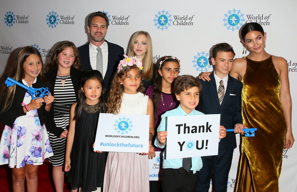 Amanda Seyfried Thomas Sadoski at World of Children Awards