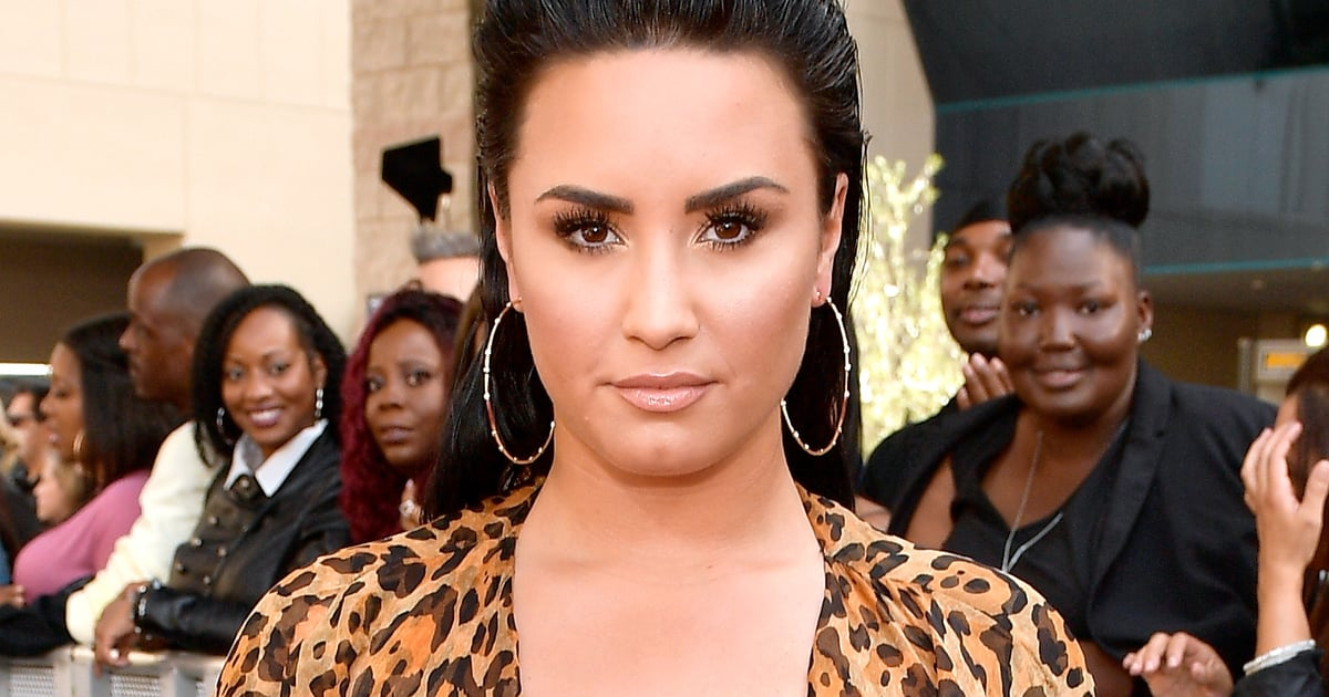 This Is the Secret To Demi Lovato's Glow (and Late Night Boredom)
