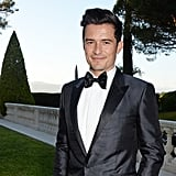 Katy Perry and Orlando Bloom at amfAR Gala in Cannes 2016