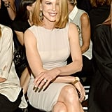 Among the guests at Thursday's Calvin Klein Klein fashion show was Nicole Kidman.