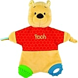Disney Baby Classic Pooh Flat Blanky Teether