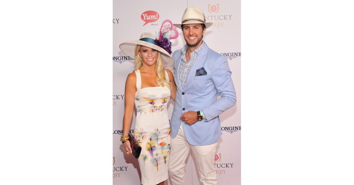 239fe29c0d6e0 Luke Bryan and his wife