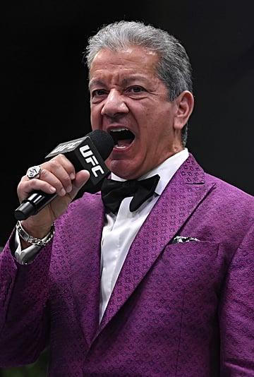 MMA Announcer Bruce Buffer Records Cameo Birth Announcements