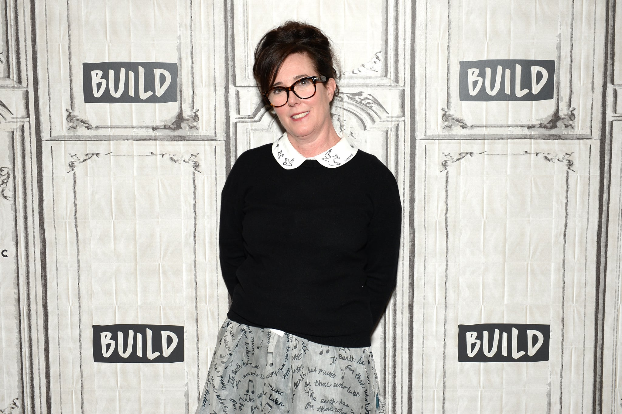 NEW YORK, NY - APRIL 28:  Designer Kate Spade attends AOL Build Series to discuss her latest project Frances Valentine at Build Studio on April 28, 2017 in New York City.  (Photo by Andrew Toth/FilmMagic)