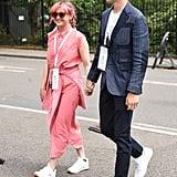 Maisie Williams at Wimbledon, July 2019