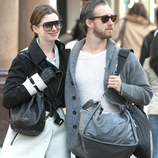Anne Hathaway and Adam Shulman PDA in NYC Pictures