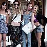 """""""Nothing like a girly shopping mission when you're on vaycay ~ especially when it's festival-prep 😜 #spellfestivalstyle"""""""