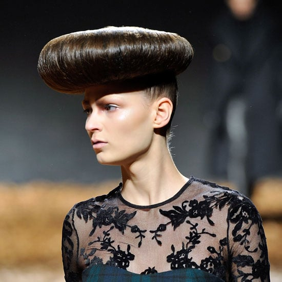 Crazy Hair at McQ by Alexander McQueen: London Fashion Week