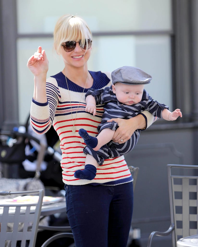 Baby boy Jack joined funny couple Anna Faris and Chris Pratt in August 2012.