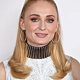 Sophie Turner With a Ponytail at an X-Men: Dark Phoenix Event