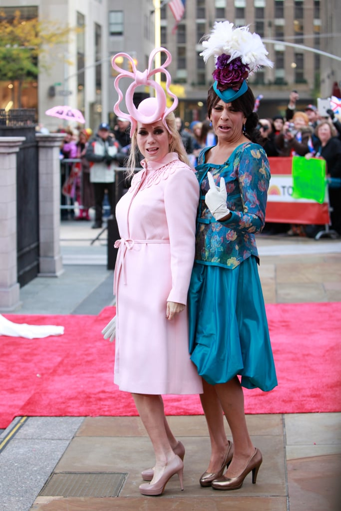 Kathie Lee Gifford and Hoda Kotb as Princesses Eugenie and Beatrice in 2011