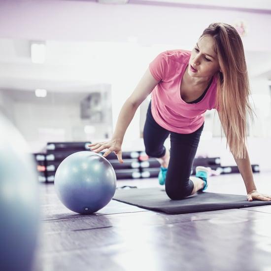 15-Minute Full-Body Pilates Ball Workout