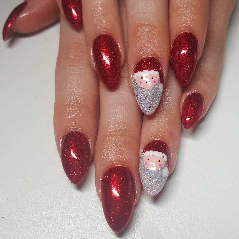 Christmas And Festive Nail Art Ideas Popsugar Beauty Uk