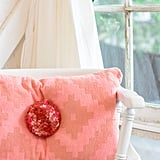 Turn It Into: An Embellished Pom-Pom Pillow