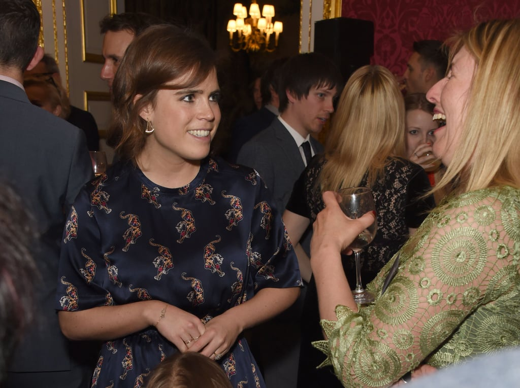 Princess Eugenie Sandro Tiger Dress