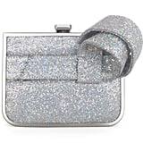 Jerome C. Rousseau Silver Gem Bow Clutch ($595)