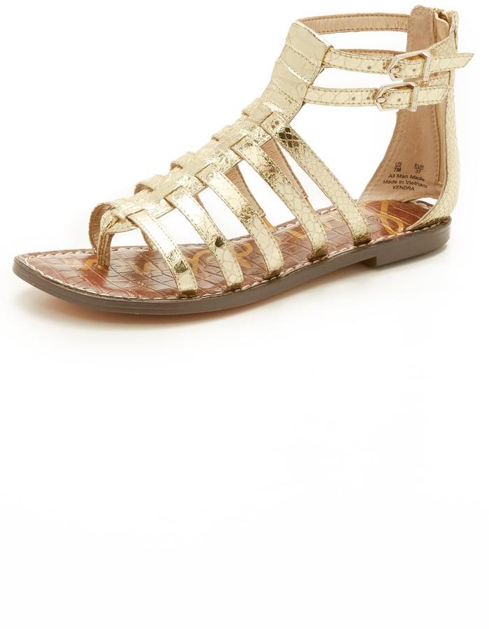 Sam Edelman Kendra Flat Sandals ($100)
