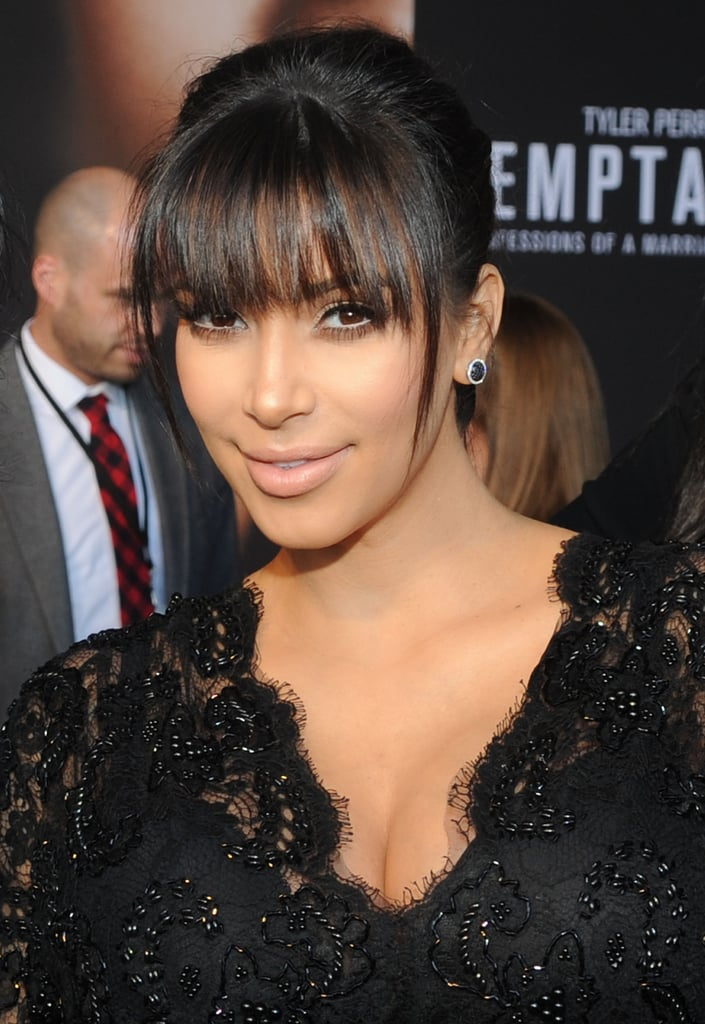 Kim Kardashian Embraces Her Baby Bump For Big-Screen Debut