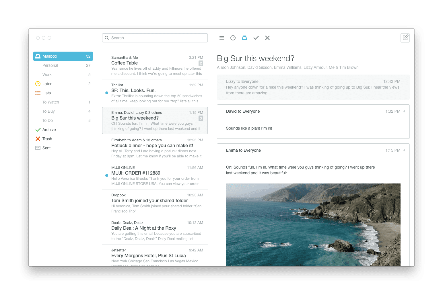 Mailbox for Mac Desktop Beta