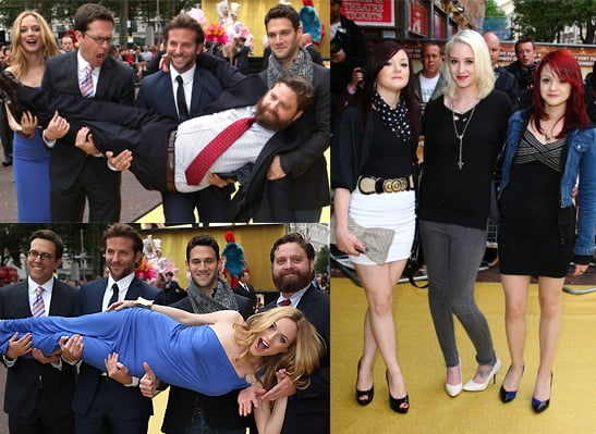 Photos From The UK Premiere Of The Hangover With Bradley Cooper, Heather Graham, Skins Cast Lily Loveless, Megan Prescott