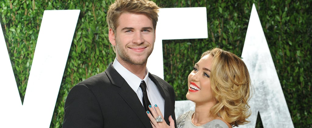Then and Now: These Side-by-Side Photos of Miley and Liam at the Oscars Will Make You Emotional