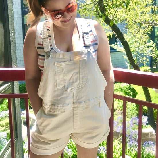 Comfortable Overall Shorts at Old Navy | Editor Review 2020