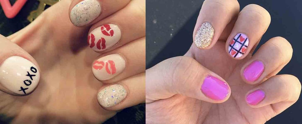 Best Valentine S Day Nail Art Of Instagram Popsugar Beauty