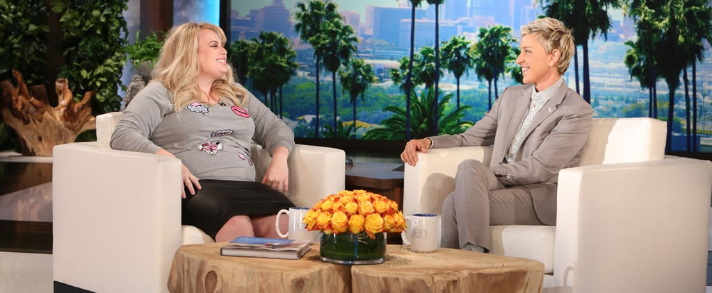 Rebel Wilson on The Ellen DeGeneres Show February 2016