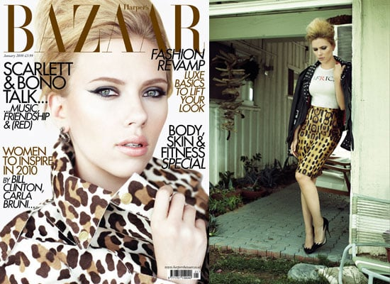 Photos of Scarlett Johansson on Harper's Bazaar Cover