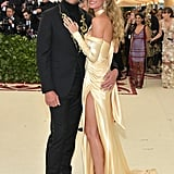 Gisele Bündchen and Tom Brady at the 2018 Met Gala