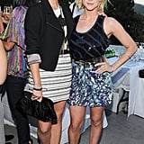 Jessica Stroup and Brittany Snow in Ann Taylor Loft party separates — cuties.