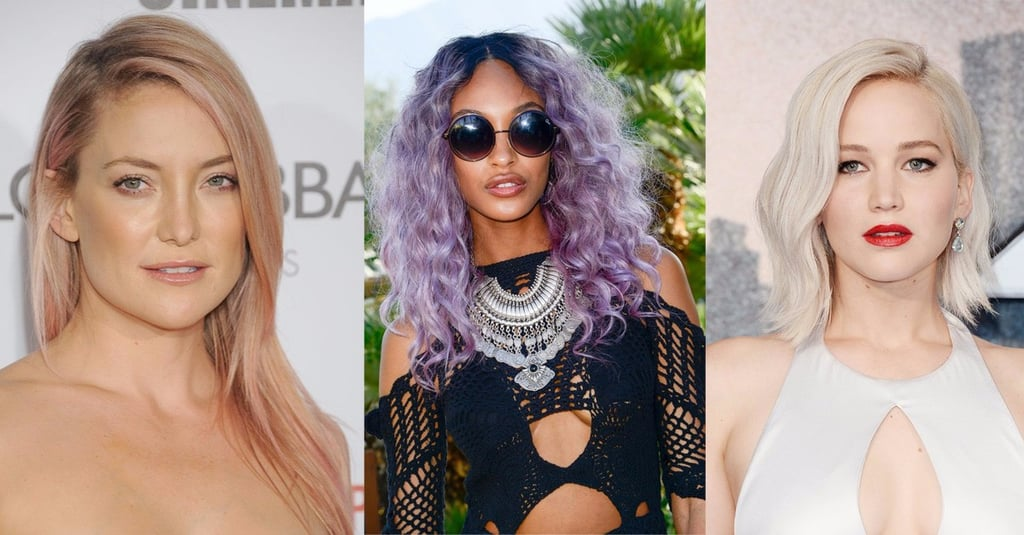 The 15 Hottest Hair Colors That DOMINATED 2017