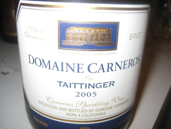 Happy Hour: Domaine Carneros  Brut 2005