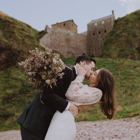 Elopement Shoot at Dunnottar Castle in Scotland